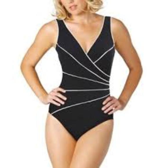 2d1a4da06432b Kirkland Miracle Suit One Piece Bathing Suit NWT